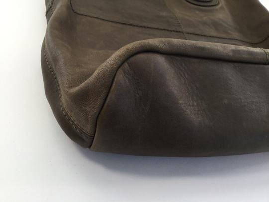 Givenchy Leather Lambskin Nightingale Tote in Olive Green