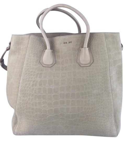 Preload https://item1.tradesy.com/images/givenchy-creme-embossed-leather-shopper-beige-sueded-tote-1904255-0-5.jpg?width=440&height=440
