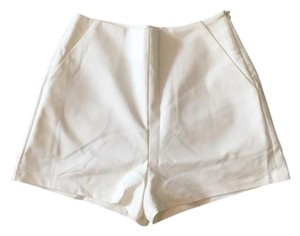 Necessary Clothing #necessaryclothing #whiteshorts #highwaistedshorts Mini/Short Shorts Ivory