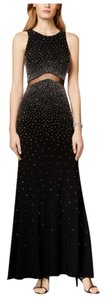 Xscape Beaded Illusion Dress