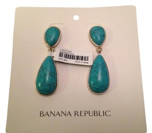 Banana Republic BR Turquoise Drop Earrings