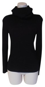 Céline Long Sleeve Turtleneck Designer Made In France Sweater