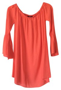 Forever 21 short dress Orange on Tradesy