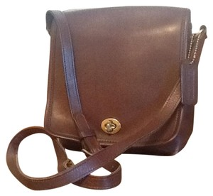 Coach Vintage Mahogany Cross Body Bag