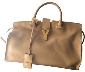 Saint Laurent Satchel in Beige