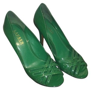 Ralph Lauren Green Pumps