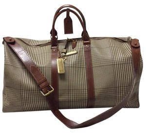 Ralph Lauren Rl Travel Rl 2way Travel Rl Plaid Travel Rl Guncheck Travel Bag