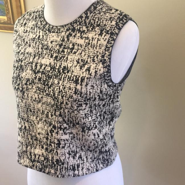 Theory Top Black and ivory Image 1
