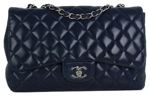 Chanel Jumbo Flap Lambskin Shoulder Bag