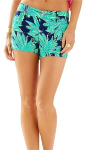 Lilly Pulitzer Dress Shorts Navy Multi