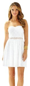 Lilly Pulitzer short dress WHITE Brett Cocktail on Tradesy