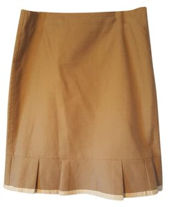 Kenar Womens Pencil Skirt Beige