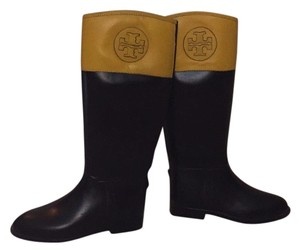 Tory Burch Brown and yellow Boots