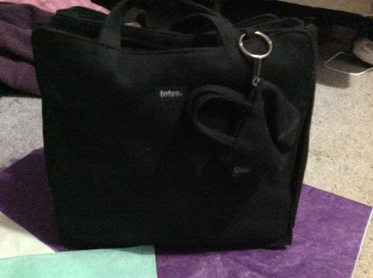 totes Tote in Black Image 3