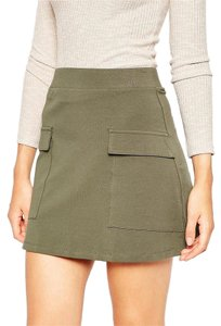 ASOS Mini Skirt Khaki