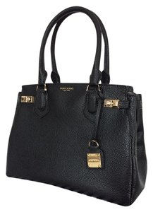 Henri Bendel Carlyle Embossed Texture Tote in Black