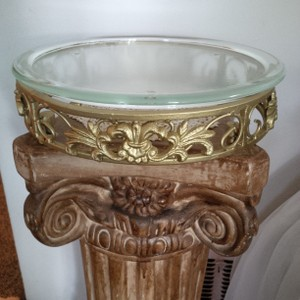 Iron Filigree Cake Stand