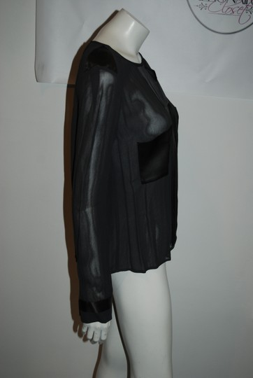 940ff6424fea 80%OFF By Malene Birger Gray 13 Nwt  395 Sheer Liton Sz 34 s Top ...
