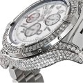Breitling Mens Diamond Breitling Super Avenger White Dial A13370 Watch Image 0