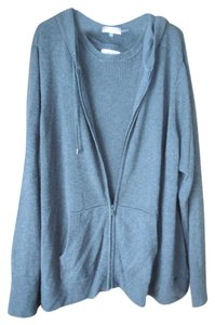 Calvin Klein 2 Pieces Plus-size Logo Zip-up Hooded Cardigan
