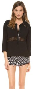 IRO Haute Hippie Elizabeth And James Tory Burch Dvf Zimmermann Top BLACK