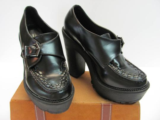 Forever 21 Size 9.00 Very Good Condition Black Platforms Image 1