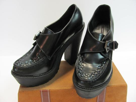 Forever 21 Size 9.00 Very Good Condition Black Platforms Image 2