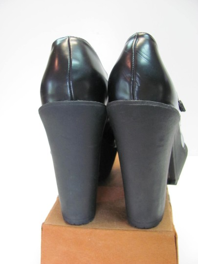 Forever 21 Size 9.00 Very Good Condition Black Platforms Image 3