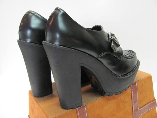 Forever 21 Size 9.00 Very Good Condition Black Platforms Image 5