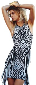 Torn by Ronny Kobo short dress Silk Blend Romper Boho Bohemian Paisley on Tradesy