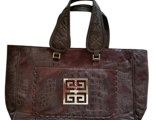 Givenchy Nightingale Satchel in Choclate Brown