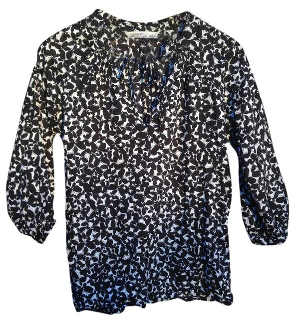 Preload https://item2.tradesy.com/images/black-and-white-dark-floral-butterfly-blouse-size-2-xs-1904871-0-0.jpg?width=400&height=650