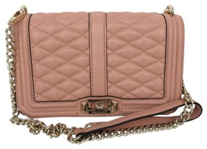 Rebecca Minkoff Leather Gold Hardware Chic Night Out Date Night Cross Body Bag