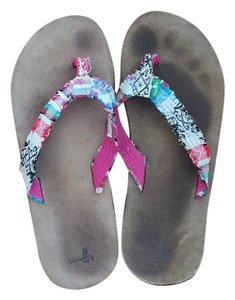 Sanuk Multi-colored Sandals