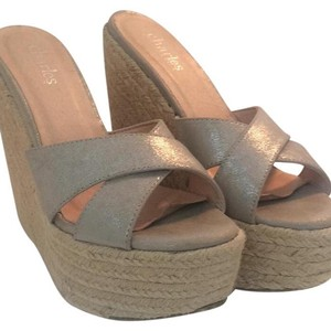 Charles by Charles David Silver Wedges