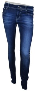 Miss Me Skinny Denim Dark Rinse 5 Pocket Skinny Jeans-Dark Rinse