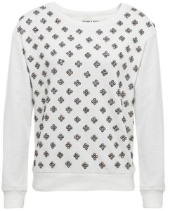Alice + Olivia Beaded + Sweatshirt