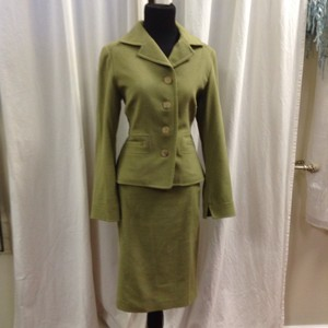 Mr. + Mrs. Macleod Mr. & Mrs. Macleod Cult Brand Vtg Cashmere/Angora/Wool Skirt Suit Size 4/6