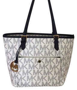 MICHAEL Michael Kors Tote in Blue/white
