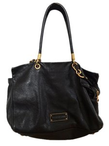 Marc by Marc Jacobs Too Hot To Handle Leather Satchel in Black