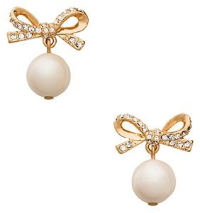 Kate Spade New kate spade skinny mini pearl drop earrings studs Earrings Gold