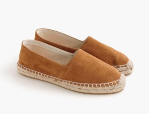 J.Crew Size 7 Free Shipping Espadrille Brand Name Brown Flats