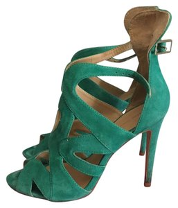 Zara Green Pumps
