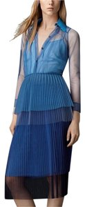 Burberry Prorsum short dress Blue on Tradesy