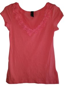 H&M T Shirt Coral