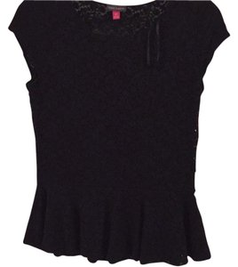 Vince Camuto Top Black