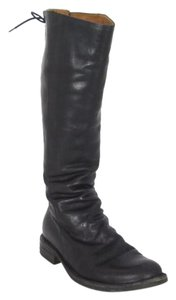 Fiorentini + Baker Leather Knee-high Black Boots