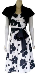 Jessica Howard Floral Cocktail Silky Dress