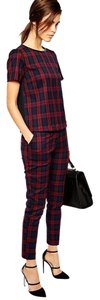 Oasis Trouser Pants Multi/Check