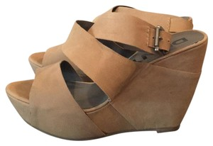 DKNY Nude Wedges